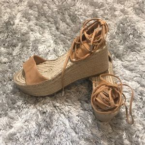 Brand new GUESS wedge sandal